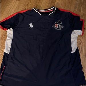 Polo England soccer jersey